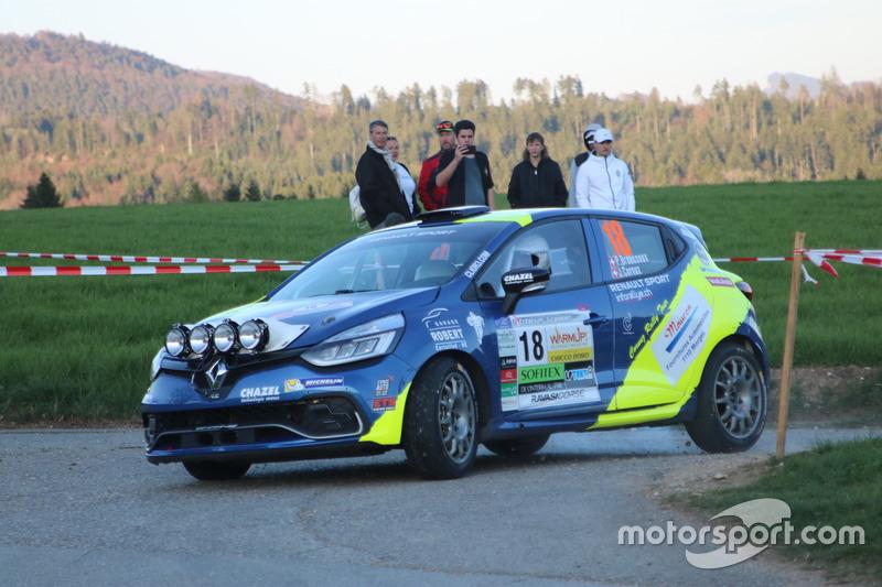 Philippe Broussoux, Jessica Cornuz, Renault Clio R3T
