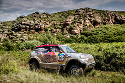 #105 X-Raid Team Mini : Bryce Menzies, Peter Mortensen