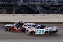 Ben Rhodes, ThorSport Racing Toyota y Johnny Sauter, GMS Racing Chevrolet