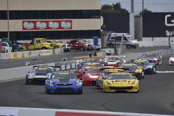 #8 Cadillac Racing Cadillac ATS-VR GT3: Michael Cooper, #31 TR3 Racing Ferrari 488 GT3: Daniel Manci