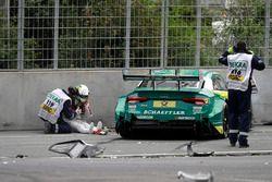 Mike Rockenfeller, Audi Sport Team Phoenix, Audi RS 5 DTM a baleset utáni pillanatokban