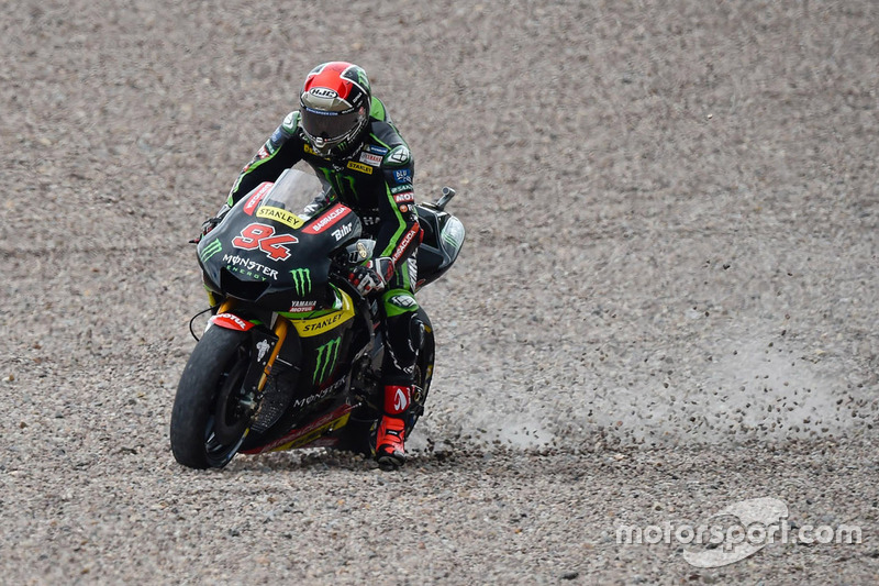 Jonas Folger, 8 crashes
