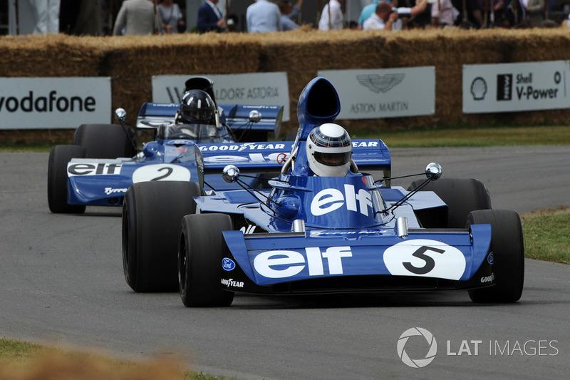 Jackie Stewart, Damon Hill, Tyrrell