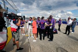 Jose Maria Lopez, DS Virgin Racing, in griglia