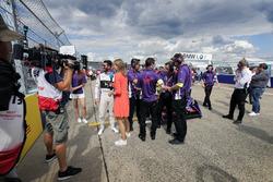 Jose Maria Lopez, DS Virgin Racing, in griglia