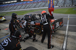 Christopher Bell, Kyle Busch Motorsports Toyota, makes a pit stop