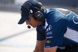 Jamie Coates, Crewchief von Max Chilton, Chip Ganassi Racing, Honda