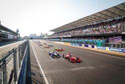 Largada para ePrix do México