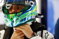 Felipe Massa, Williams, with helmet visor open
