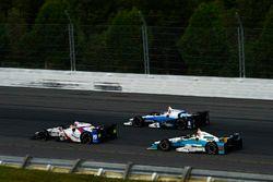 Ed Jones, Dale Coyne Racing Honda, Max Chilton, Chip Ganassi Racing Honda, Gabby Chaves, Harding Rac