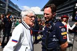 Bernie Ecclestone, Christian Horner, Red Bull Racing Team