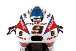 Bike detail of Danilo Petrucci, Octo Pramac Racing