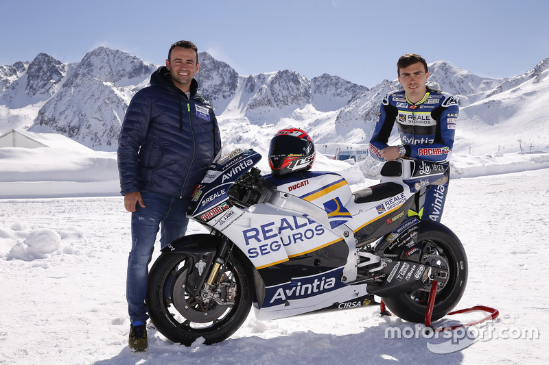 Hector Barbera and Loris Baz, Avintia Racing MotoGP
