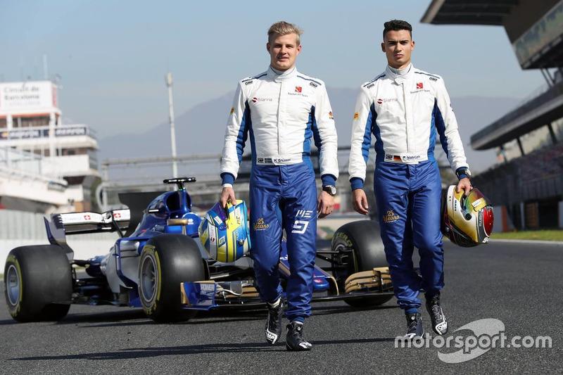 Marcus Ericsson y Pascal Wehrlein, pilotos de Sauber