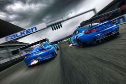 Porsche GT3-R und BMW M6 GT3, Team Falken Motorsport