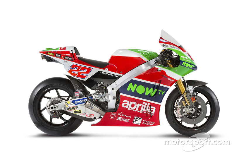 Moto di Lowes, Aprilia Racing Team Gresini