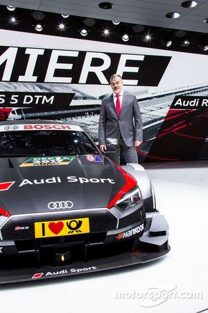 Dieter Gass, Audi Sport Başkanı, Audi RS 5 DTM 2017