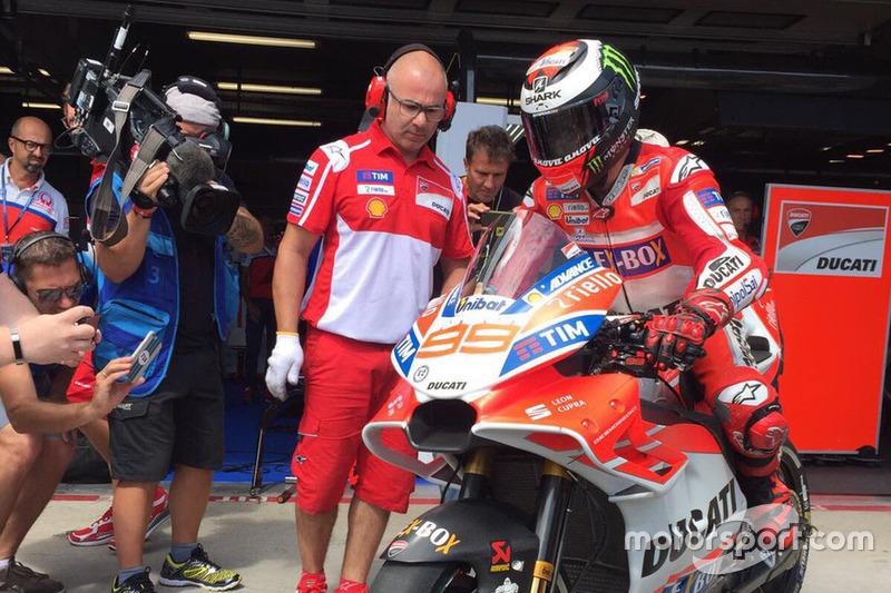 Ducati carenado Jorge Lorenzo