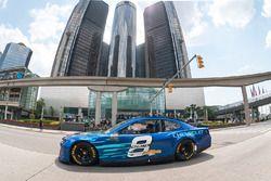Jimmie Johnson im Chevrolet Camaro ZL1 für NASCAR-Saison 2018