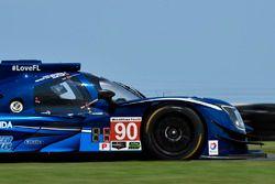 #90 Visit Florida Racing Ligier LMP2: Marc Goossens, Renger van der Zande