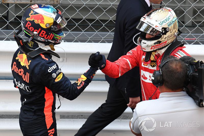 Monako - Sebastian Vettel
