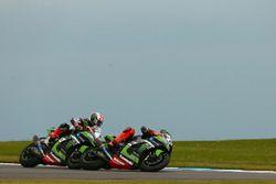 Tom Sykes, Kawasaki Racing passes Jonathan Rea, Kawasaki Racing