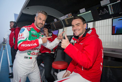 Michelisz Norbert y Tiago Monteiro