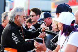 Dr. Vijay Mallya, propriétaire du Sahara Force India Formula One Team