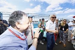 Jean Todt presidente de FIA y Richard Branson