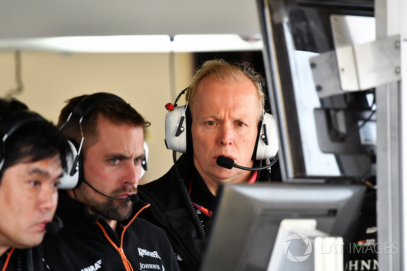 Технічний директор Sahara Force India Енді Грін