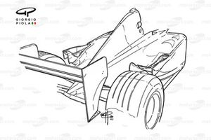 McLaren MP4-14 sidepod outlets and winglets