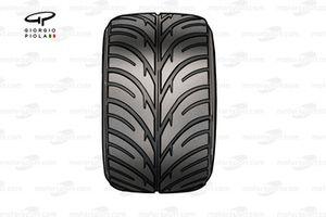 Michelin intermediate tyre