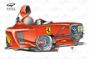 Шасси Ferrari F2003-GA (654)