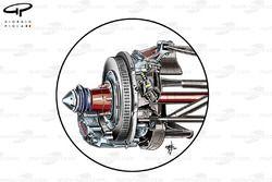 Ferrari F150 rear brakes