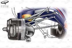 Red Bull RB6 front brake duct detail