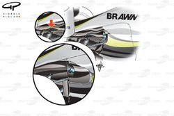 Brawn BGP 001 2009 rear bodywork development