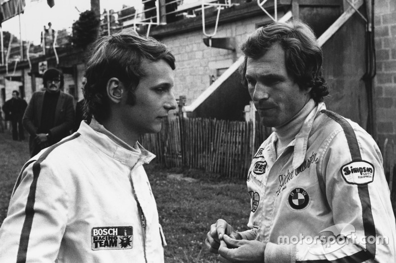 Niki Lauda, March 712M - Cosworth con Dieter Quester, March 712M - BMW