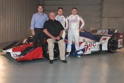 Larry Foyt, A.J. Foyt, Carlos Munoz and Conor Daly