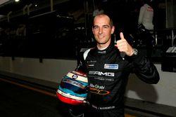 Pole position del #2 Black Falcon Mercedes AMG GT3: Jeroen Bleekemolen
