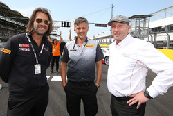 Stéphane Ratel, CEO and founder of SRO, Matteo Braga, Pirelli Circuit Activity Manager, Vincent Vosse, Belgian Audi Club Team WRT owner