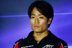 Press Conference: Nobuharu Matsushita, ART Grand Prix