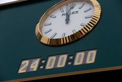 The Rolex clock
