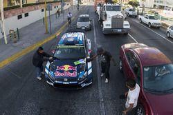 Jari-Matti Latvala, Miikka Anttila, Volkswagen Polo WRC, Volkswagen Motorsport, wordt gewassen bij e