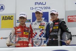 Подиум: Гуанью Жоу, Motopark Dallara F312 – Volkswagen, Бен Барникот, HitechGP Dallara F312 – Merced
