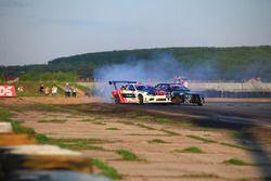 Екатерина Седых, Nissan Silvia S15 и Евгений Сатюков, BMW M3 E36