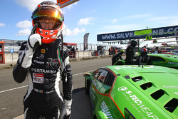 Polesitter #16 GRT Grasser Racing Team, Lamborghini Huracan GT3: Mirko Bortolotti