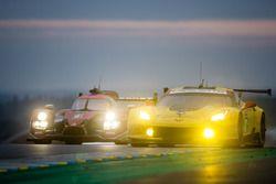 #63 Corvette Racing Chevrolet Corvette C7-R: Jan Magnussen, Antonio Garcia, RickyTaylor, #43 RGR Sp