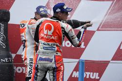 Podium: third place Scott Redding, Pramac Racing