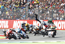 Albert Arenas, Aspar Team Mahindra crash