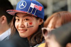 A Lewis Hamilton Mercedes AMG F1 fan